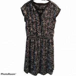 Reitman's - Casual Dress / Floral / Black / sz. S
